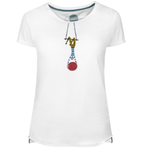 Camiseta Mujer Aerialist - Lefugu