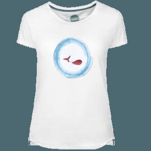 Camiseta Mujer Baleia - Lefugu
