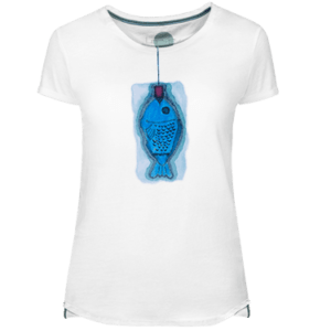 Blau Fish Women's T-shirt - Lefugu