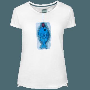 Camiseta Mujer Blau Fish - Lefugu
