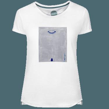 Camiseta Mujer Blue Teardrop - Lefugu