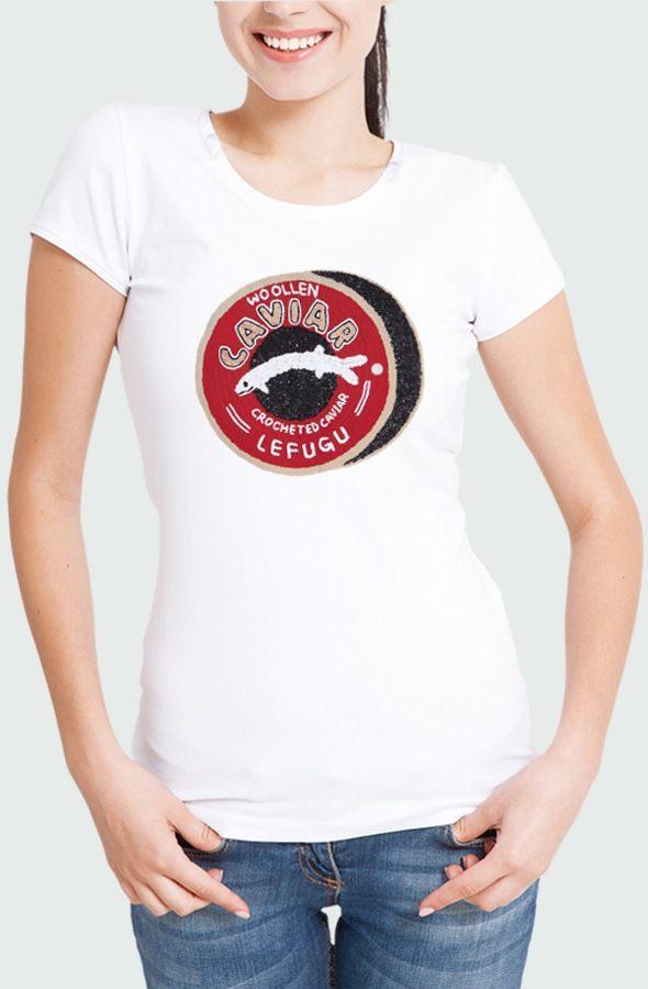 Camiseta Mujer Caviar Modelo