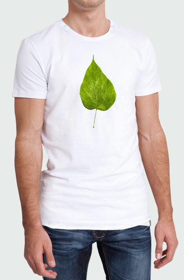 Camiseta Flour Leaf Hombre Modelo