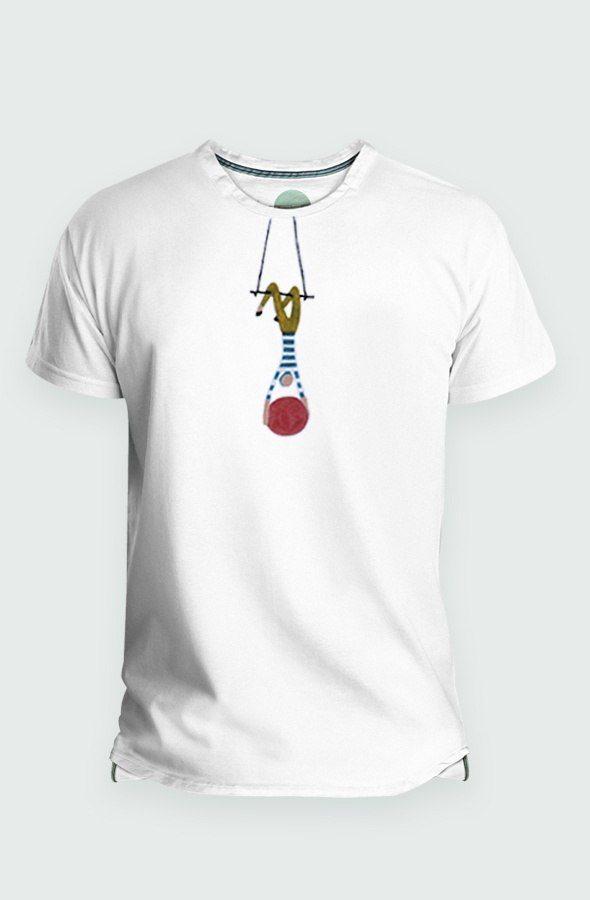 Camiseta Hombre Aerialist Detalle