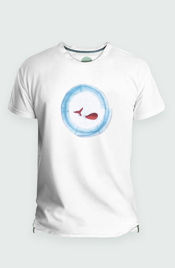Camiseta Hombre Baleia Detalle
