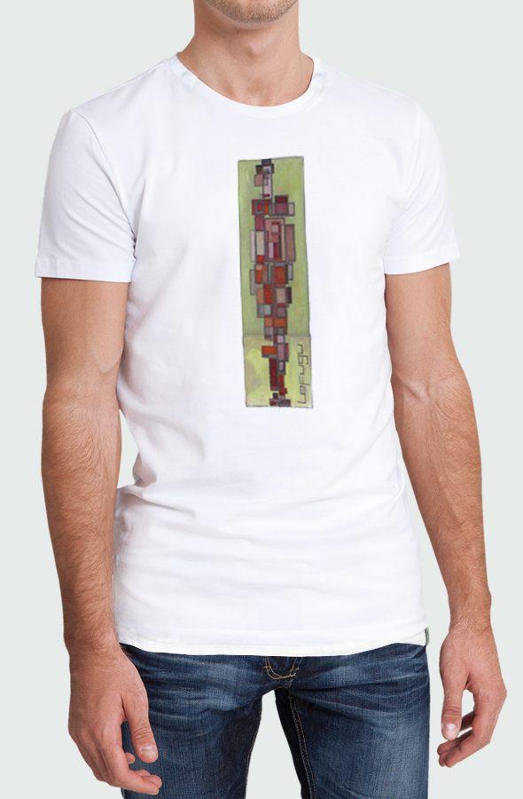 Camiseta Hombre Cubism Modelo