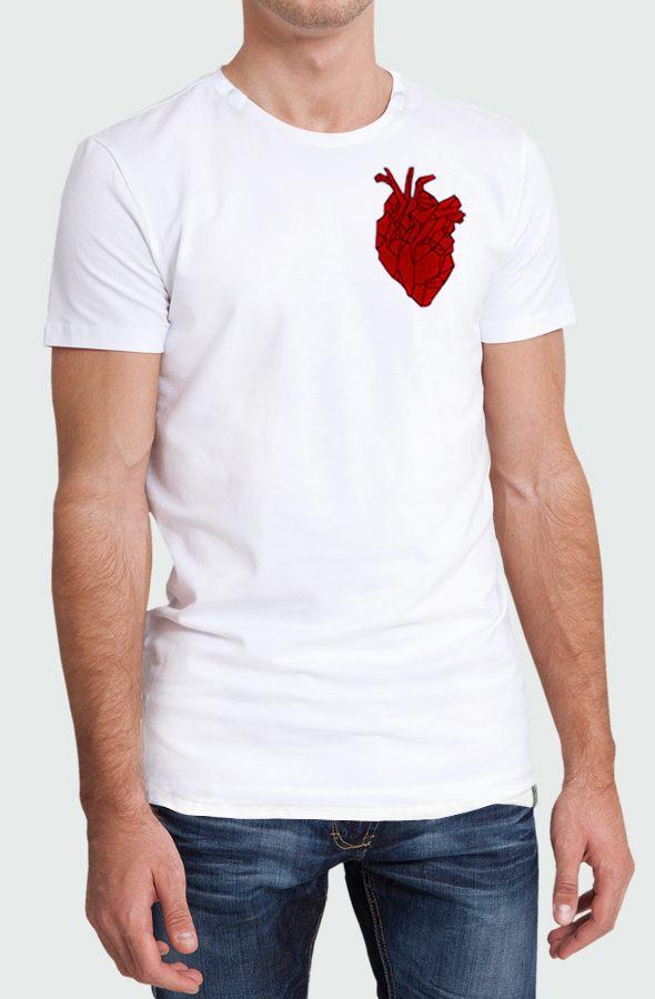 Camiseta Hombre Heart Beating Modelo