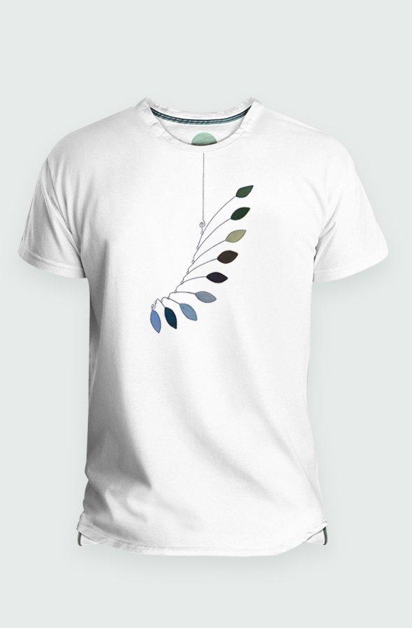 Camiseta Hombre Mobile Leaves Detalle