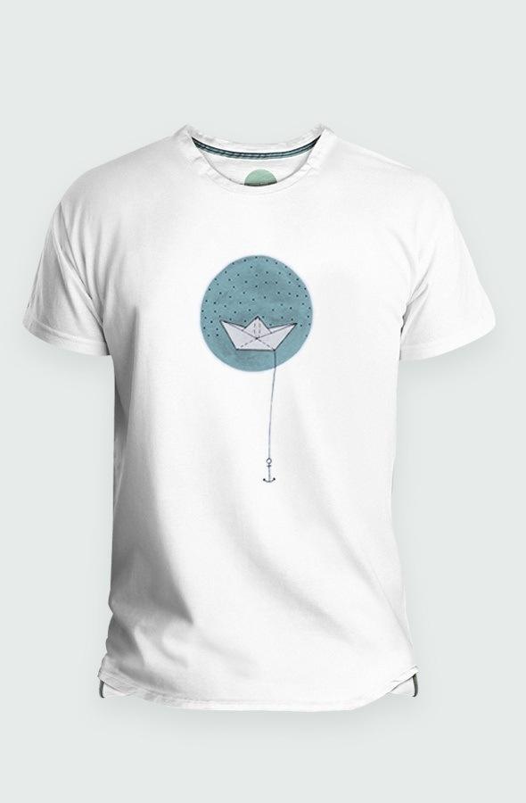 Paper Boat Men's T-shirt image front