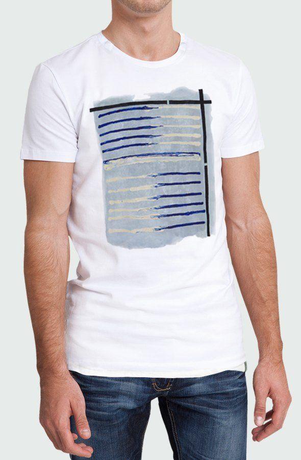 Camiseta Hombre Tela Marinera Modelo