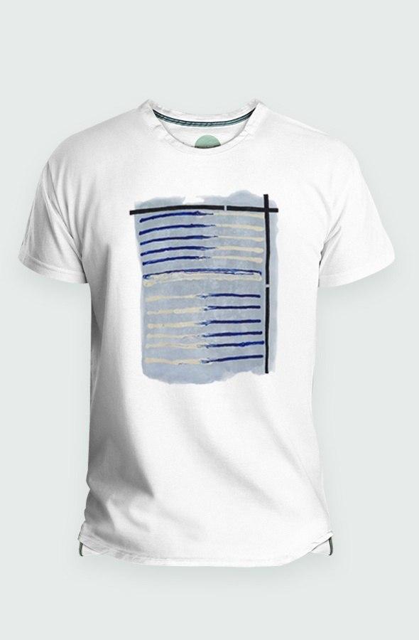 Camiseta Hombre Tela Marinera Detalle