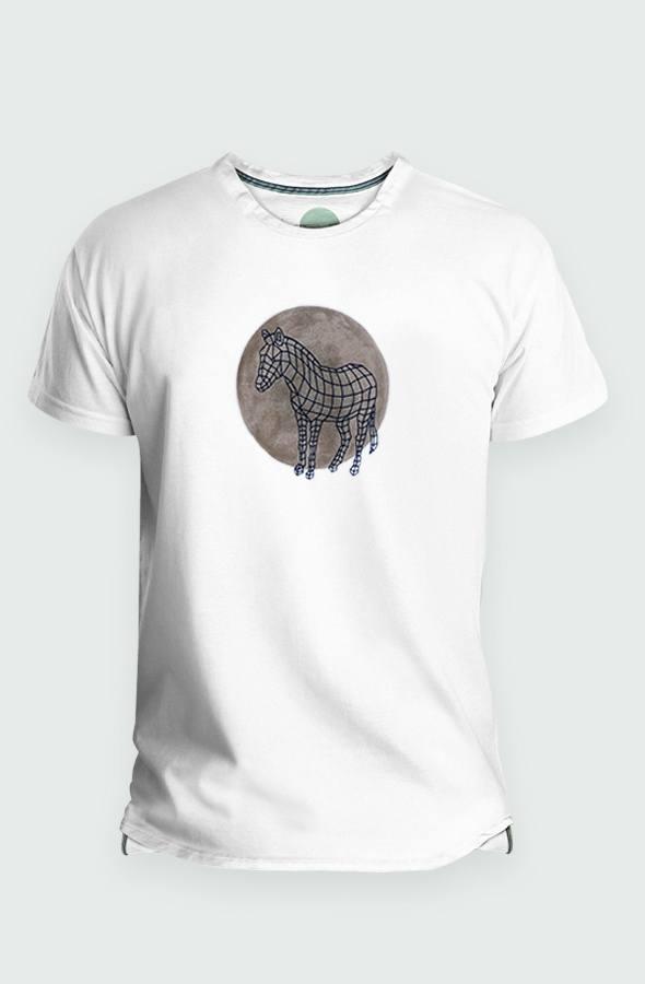 Camiseta Hombre Zebra Dot Detalle