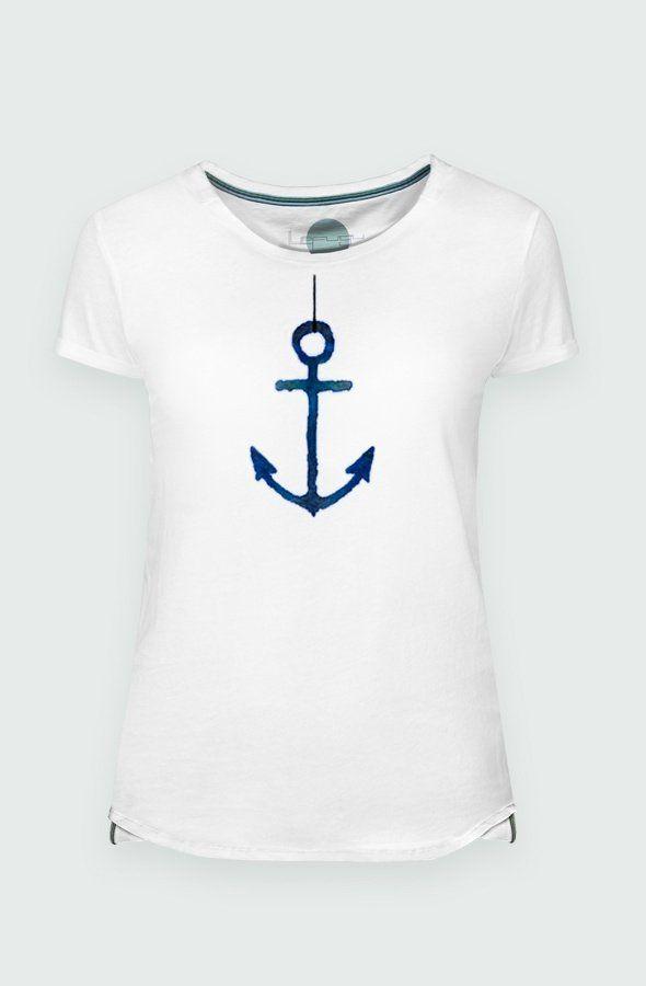 Camiseta Mujer Anchor Detalle