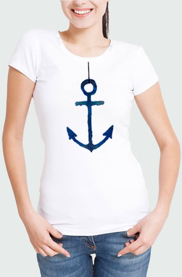 Camiseta Mujer Anchor Modelo