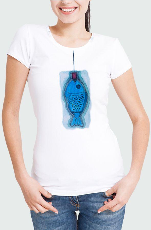 Camiseta Mujer Blue Fish Modelo
