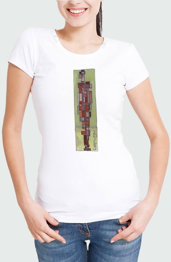 Camiseta Mujer Cubism Modelo