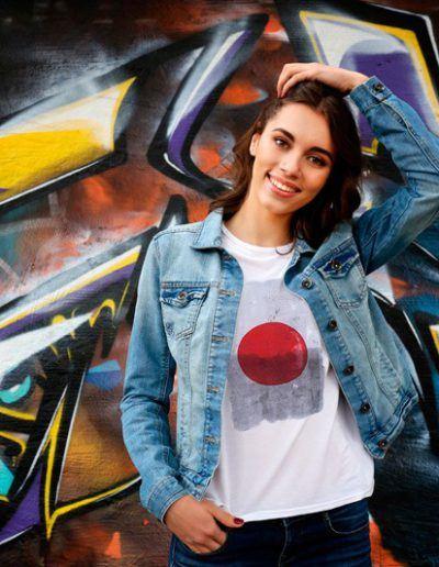 Fuger with Japan Red Dot t-shirt