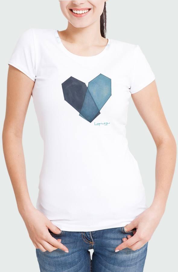 Camiseta Mujer Mortal Heart Modelo