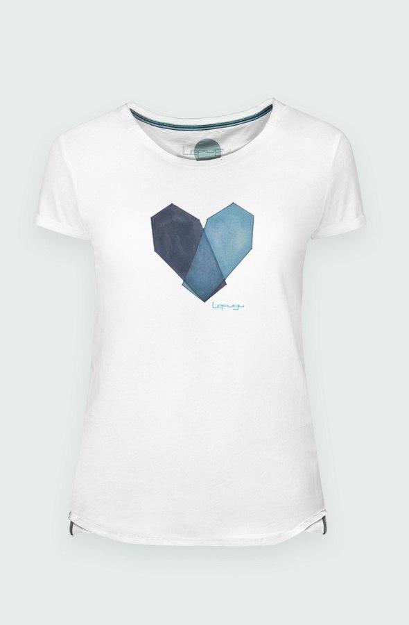 Camiseta Modelo Mortal Heart Detalle
