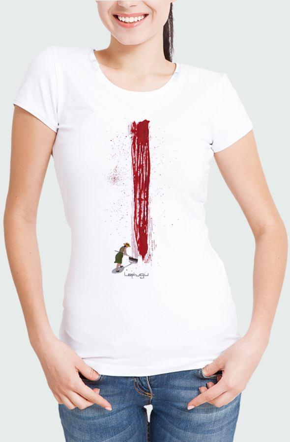 Camiseta Mujer Sunday Bloody Sunday Modelo