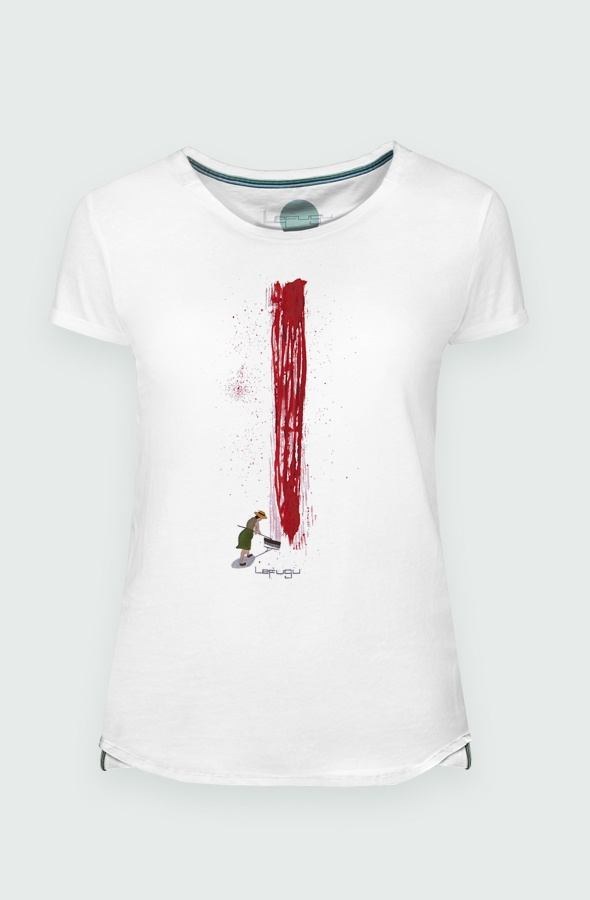 Camiseta Mujer Sunday Bloody Sunday Detalle