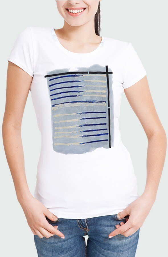 Women T-shirt Tela Marinera Model