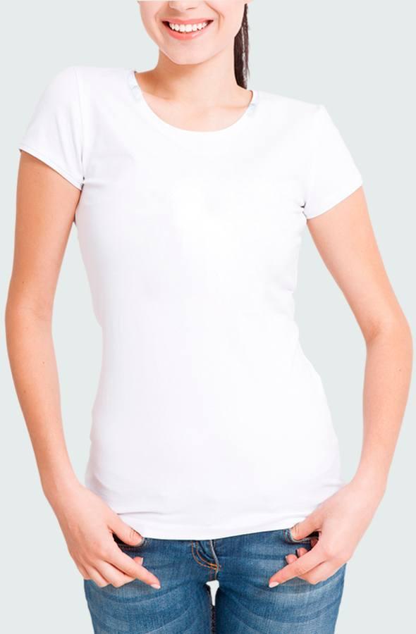 Camiseta Mujer LFG Basic Modelo