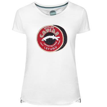 Camiseta Mujer Caviar - Lefugu