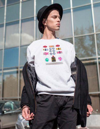 Fuger with Sushi sweatshirt