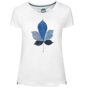 Coulored Leaf Women's T-shirt - Lefugu