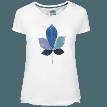 Camiseta Mujer Coulored Leaf - Lefugu