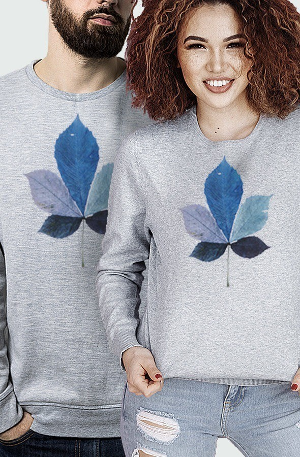 Sudadera Unisex Coloured Leaf Modelo