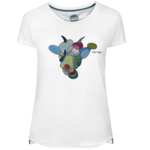 Crazy Goat Women's T-shirt - Lefugu