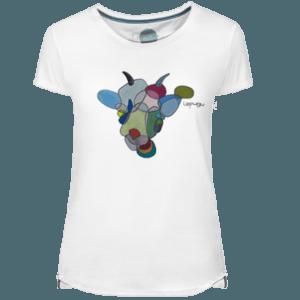 Camiseta Mujer Crazy Goat - Lefugu