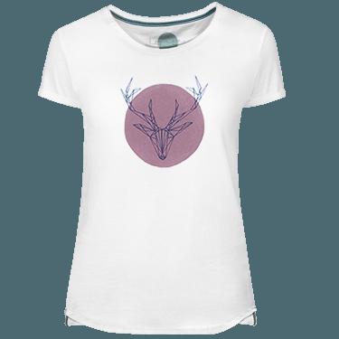 Camiseta Mujer Deer Pink - Lefugu