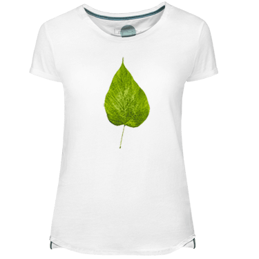 Fluor Leaf Women's T-shirt - Lefugu