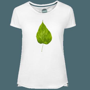 Camiseta Mujer Flour Leaf - Lefugu