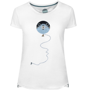 Fugu Kite Women's T-shirt - Lefugu