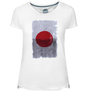 Camiseta Mujer Japan Red Dot - Lefugu