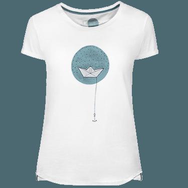 Camiseta Mujer Paper Boat - Lefugu