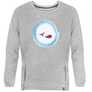 Sudadera Baleia - Lefugu