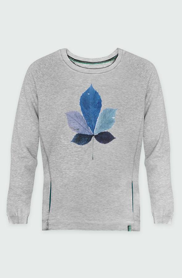 Picture Coloured Leaf Sweatshirt