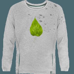 sudadera unisex devore flour leaf