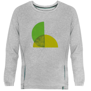 Green Split Sweatshirt Image