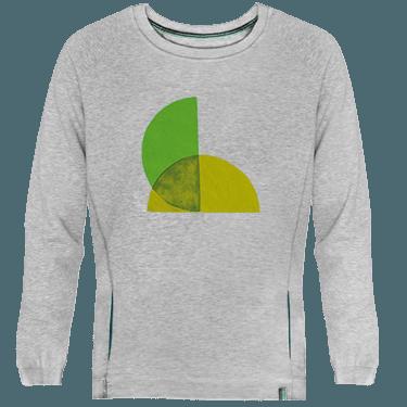 Sudadera Unisex Green Split