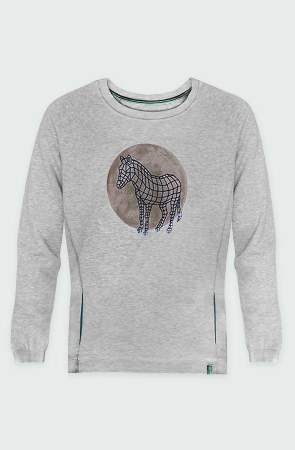 Zebra Dot Sweatshirt front image
