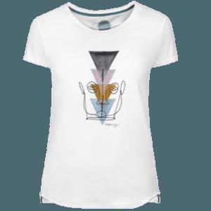 Camiseta Mujer Wired Face - Lefugu