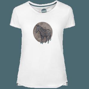 Camiseta Mujer Zebra Dot - Lefugu