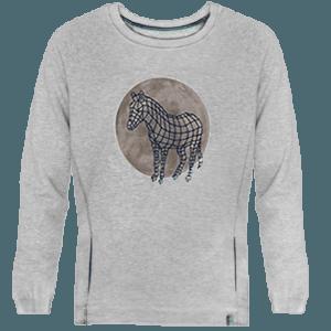 Sudadera Zebra Dot - Lefugu