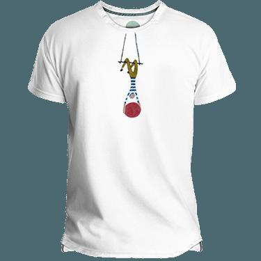 Camiseta Hombre Aerialist - Lefugu